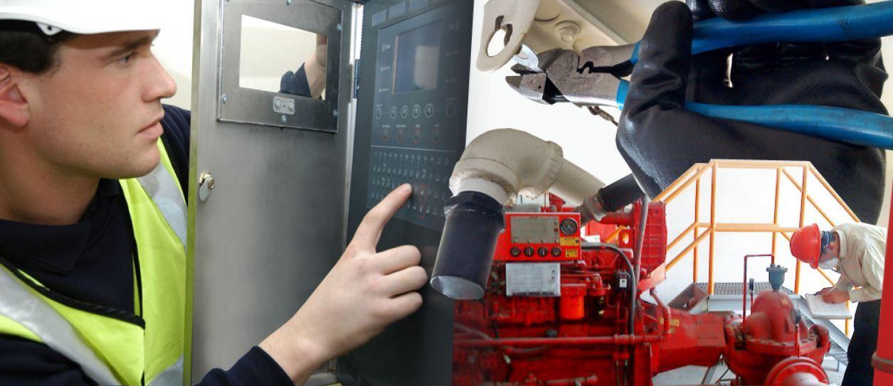mantenimiento de sistemas de incendios